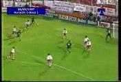 Gol de Martinez a Huracan (Boca 1-Huracan 1 26-05-97)