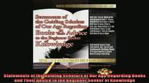 FREE DOWNLOAD  Statements of the Guiding Scholars of Our Age Regarding Books and Their Advice to the  BOOK ONLINE