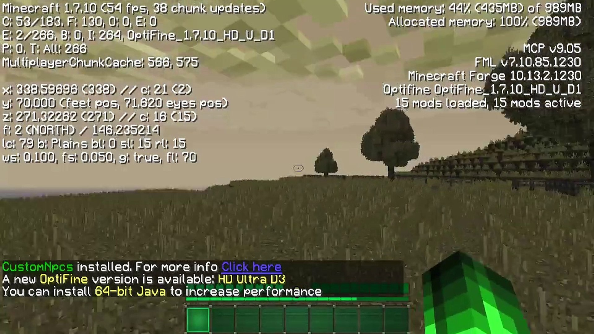 0 fps with optifine