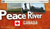 """""""Peace River, Alberta"""" Travelmenu's photos around Peace River, Canada (travel albertapeace river)"""