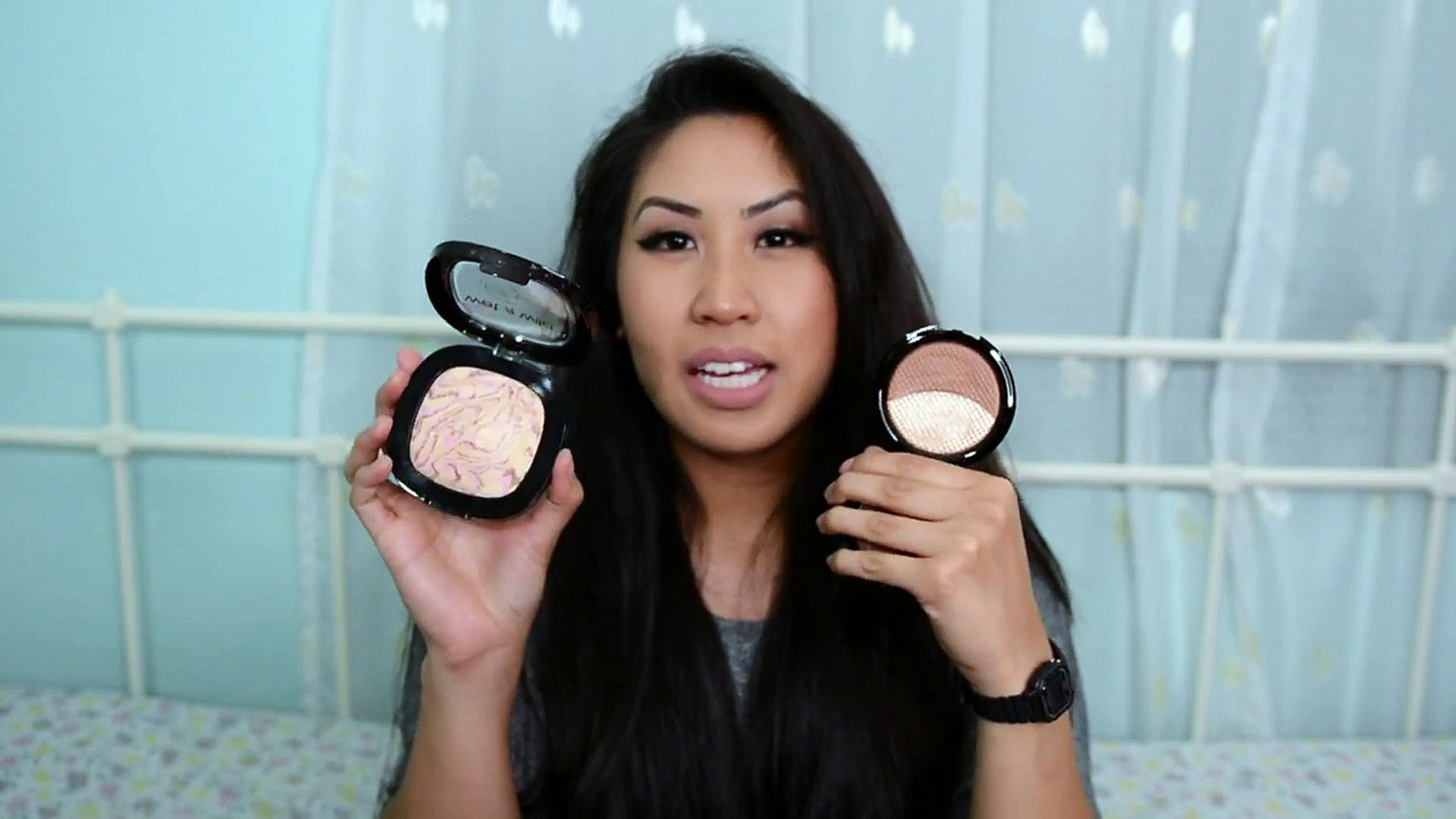 Makeup Dupes Highlighters and Pen Eyeliner