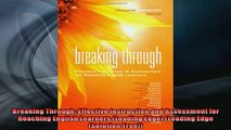 READ book  Breaking Through Effective Instruction and Assessment for Reaching English Learners  BOOK ONLINE