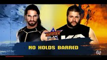 Seth Rollins vs Kevin Owens - No Holds Barred | WWE Summerslam | WWE 2K16 PC Gameplay