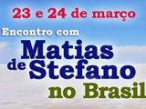 MATIAS DE STEFANO NO BRASIL - 2013 março, dias 23 e 24