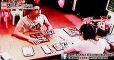 CCTV: Stupid thief get caught red handed | Pencuri Bodoh tertangkap basah