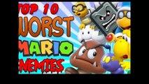 Top 10 Weakest Mario Enemies