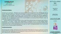 Simbahay | Setyembre 22, 2014 | Lunes sa Ika-25  Linggo ng Karaniwang Panahon