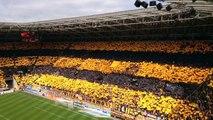 32000 supporters de foot fêtent le titre du Dynamo Dresde club de D3 allemande ! Dingue