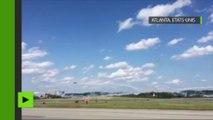USA : crash d'un avion lors d'un show aérien à Atlanta