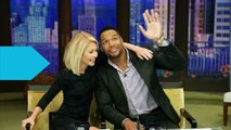 Michael Strahan Says 'Good Bye' to 'Live!'
