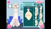 Frozen Sisters Wedding Party-Frozen Elsa and Anna Make Up  and Dress Up Games For Girls To Play