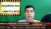 Miami Marlins vs. Washington Nationals Pick Prediction MLB Baseball Odds Preview 5-13-2016