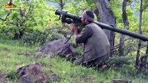 Un soldat Kurde abat un hélicoptère turc avec un lance-roquette