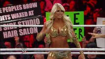 Raw- Kelly Kelly vs. Nikki Bella  wwe raw 2016