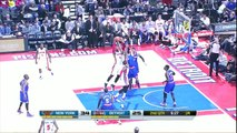 Andre Drummond 17 points 26 rebounds (career high) vs New York Knicks full highlights 2014/03/01 HD