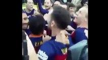Les célébrations agitées du Barça