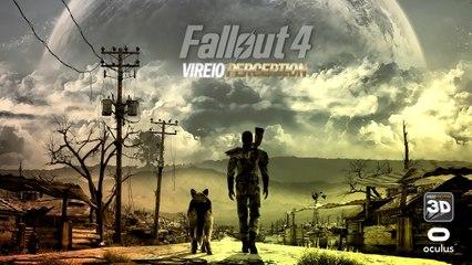 Fallout 4 in Virtual Reality - Vireio Perception 4.0 Alpha 1 - Oculus Rift