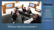 Débat Vosges TV   David Valence   24 fev 2014