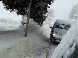 Forte nevicata a Campobasso 15 dicembre 2007 parte 2/2