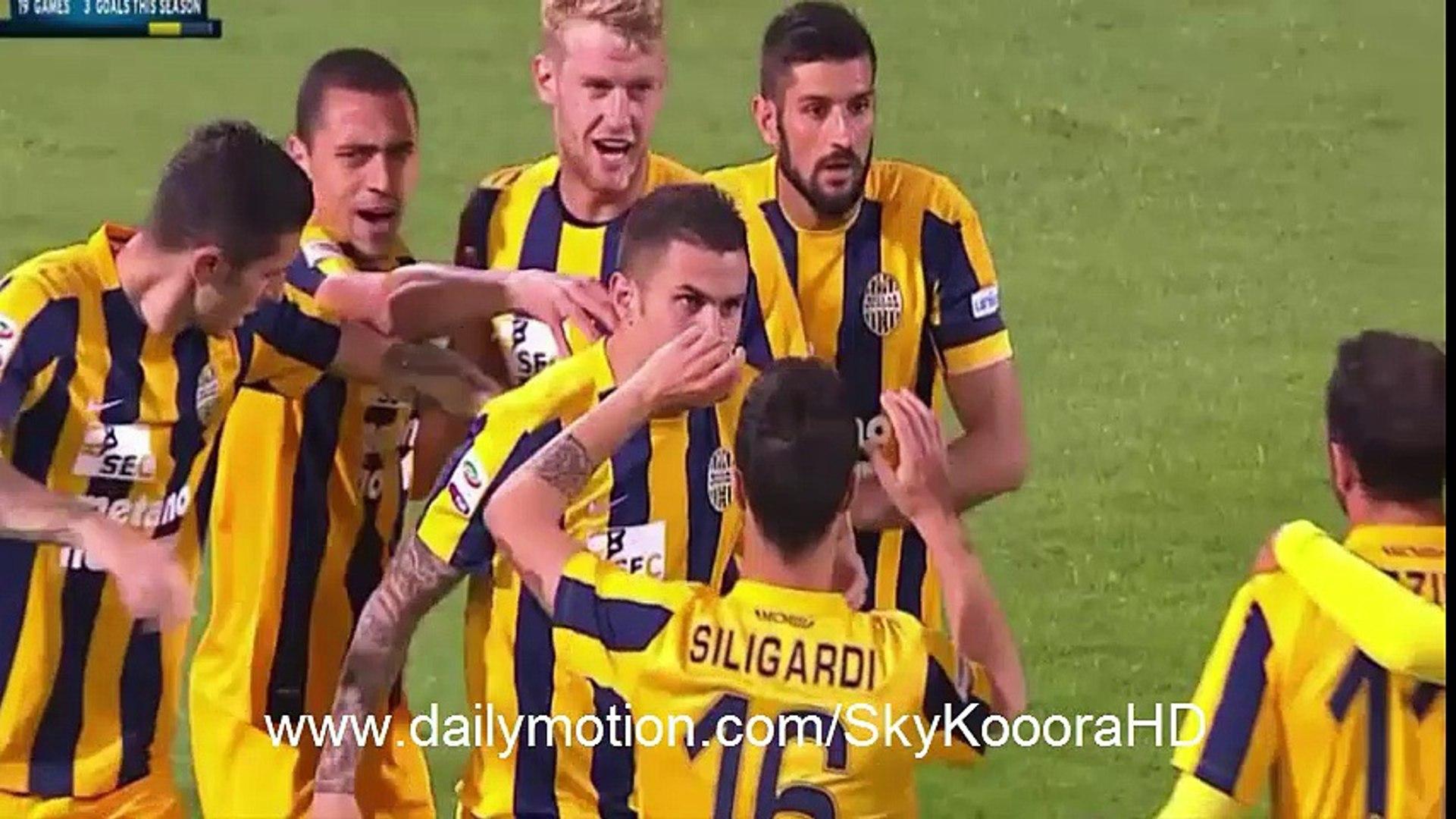 U.S. Citta di Palermo 3-2 Hellas Verona FC - All Goals HD (15-5-2016) - Serie A