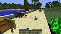 Minecraft  JET PACK SPIDER ALIEN MOD SHOOT LASER CREEPERS & FLYING SPIDERS TO RIDE! Mod Showcase