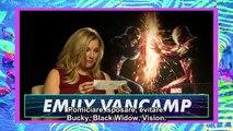 Captain America: Civil War Cast Answer YOUR Fan Questions! MTV - SUB ITA