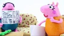 Peppa Pig George Crying! Peppa Pig Stop Motion Play Doh! Play Doh Stop Motion Peppa Pig!
