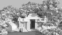 Jungle temple speed modeling Blender 3d 2.77