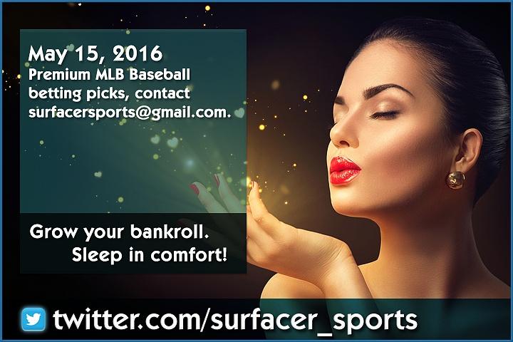 Premium MLB Baseball betting picks, contact (surfacersports@gmail.com).