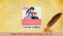 Download  Magi The Labyrinth of Magic Vol 13 Free Books