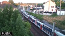 Essonnes-Robinson, 27 juin 2008, trains de voyageurs