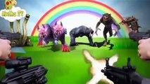 Dinossauros ABC -   Peppa Pig  Família dos Dedos -  Dinossauros e Animais