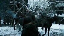 Game of Thrones S06E04 - Jon and Sansa Reunion