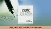 PDF  Gunga Din and Other Favorite Poems  EBook