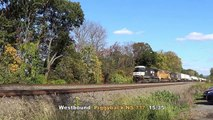 Amtrak  / Norfolk Southern Trailing UP - Southern Pacific.10-17-14