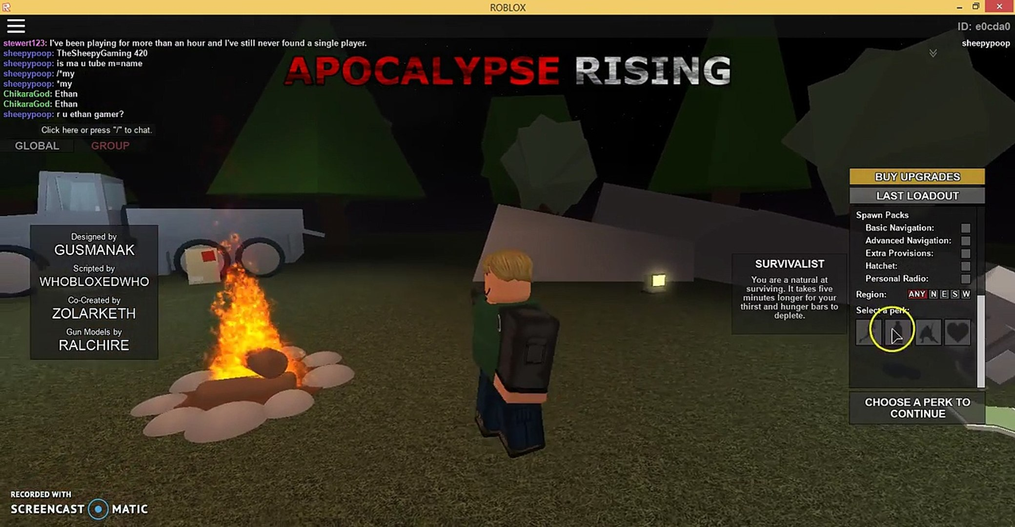 Im Becoming Famous Now Roblox Apocalypse Rising Video