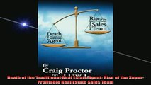 READ book  Death of the Traditional Real Estate Agent Rise of the SuperProfitable Real Estate Sales Free Online