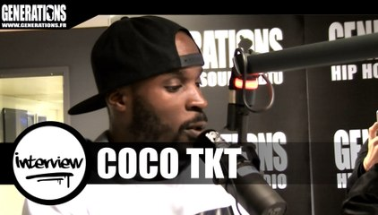 Coco TKT - Interview (Live des studios de Generations)