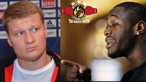 SHOCKER!! ALEXANDER POVETKIN FAILS DRUG TEST FOR DEONTAY WILDER FIGHT AND THE FIGHT IS..