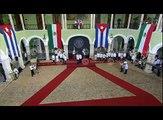 Histórico primer encuentro entre Enrique Peña Nieto y Raúl Castro Ruz