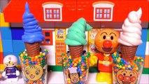 アンパンマン おもちゃ アイスクリーム屋さん ごっこ うん�