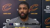 Kyrie Irving on Facing Raptors - Raptors vs Cavaliers - Game 1 Preview - 2016 NBA Playoffs