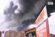 Oltre diecimila evacuati per maxirogo a Madrid