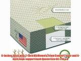 Brentwood 8 HD Memory Foam Mattress - 100% Made in USA - CertiPur Foam - 25-Year Warranty Natural
