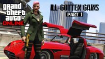 GTA ONLINE: ill gotten gains dlc,MANSIONS,CLOTHING,CARS,DECALS Grand theft auto V Gameplay