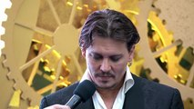 Alice Through the Looking Glass - Johnny Depp 'The Mad Hatter' Movie Premiere Interview