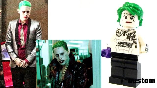 Lego 2016 Suicide Squad custom Teaser. DC Comics actor vs lego minifigures
