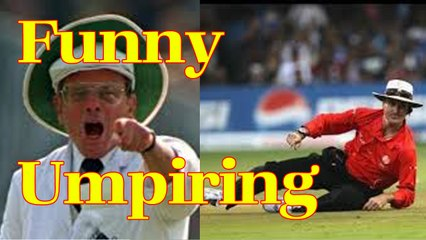 Funny Umpiring Moments Ever in Cricket History By Cricket World