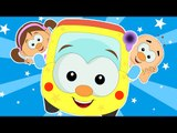 Wheels On The Bus Go Round And Round - Nursery Rhymes - Popular Nursery Rhymes Songs For Babies by KidsHome