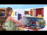 KidKraft Deluxe Lets Cook 53139 Childrens Pretend Wooden Play Toy Kitchen